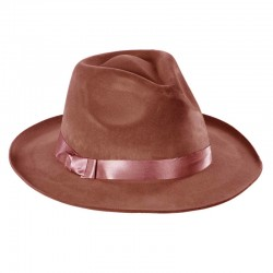 Sombrero Ganster Marron