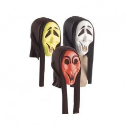 Careta Scream Colores con Capucha
