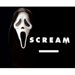 Careta Scream Fluorescente